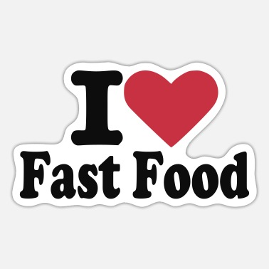 Fast Food Fast food - Sticker