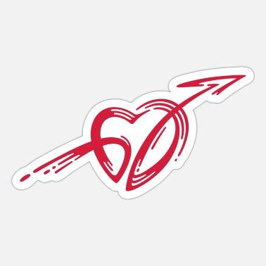 Cupid Cupid's arrow - Sticker