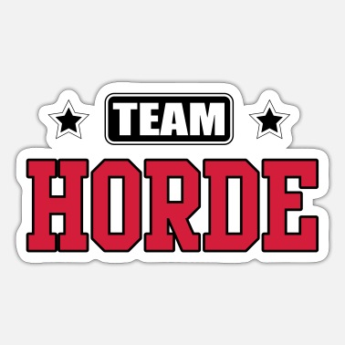 Horde Team Horde - Sticker