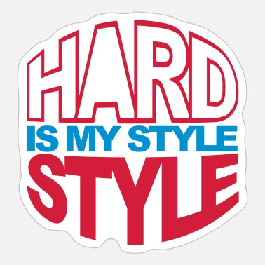 Hardstyle Circle V2 - Sticker