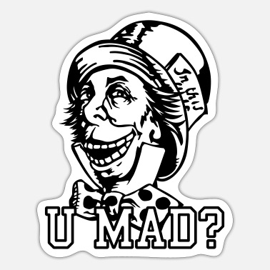 Mad u mad - Sticker