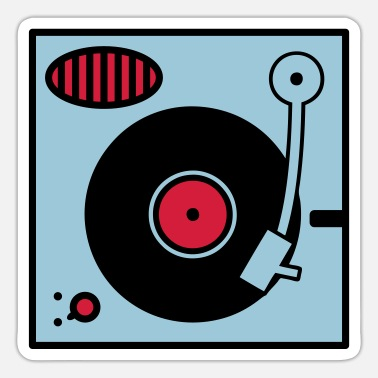 Turntable Vinyl Turntable - Sticker