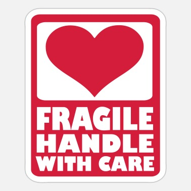 Handle Fragile Handle with care - Sticker