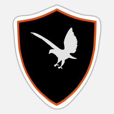 Shield Bird shield - Sticker