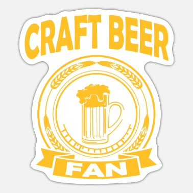 craft beer fan - Sticker