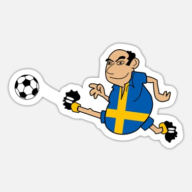 Swedish Swedish footballers - Sticker