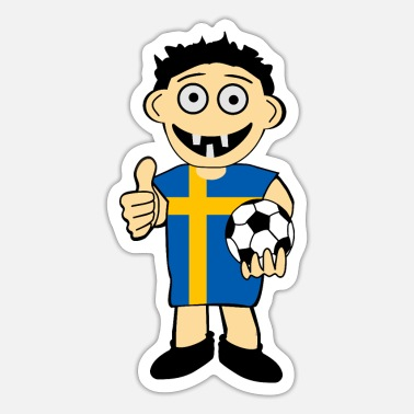 Swedish Swedish boy - Sticker