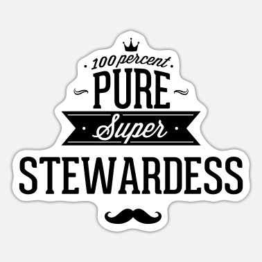 Steward Zu 100% super Steward - Sticker