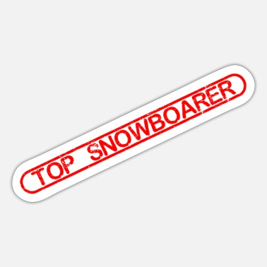 Toppen Top snowboardere - Sticker