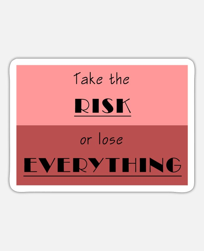 Lose Stickers - frase2 - Sticker white matte