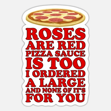 Poems Pizza poem - Sticker