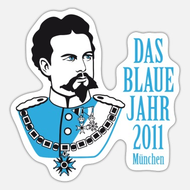 Ludwig The Blue 2011 Munich / Ludwig - Sticker