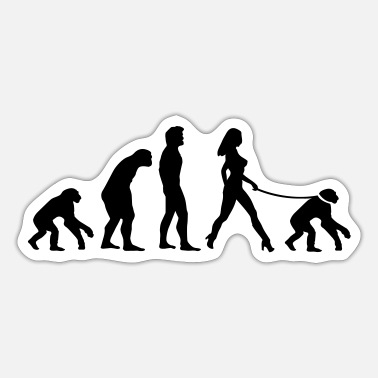 Evolutionstheorie Feminismus Evolutionstheorie - Sticker