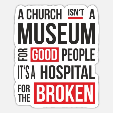 Museum Church Museum - Sticker