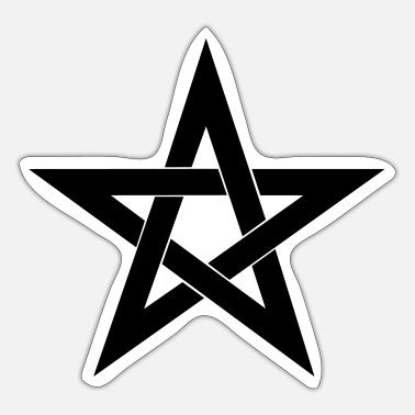 Pentacle Pentagram, pentacle, magic, symbol, witchcraft - Sticker