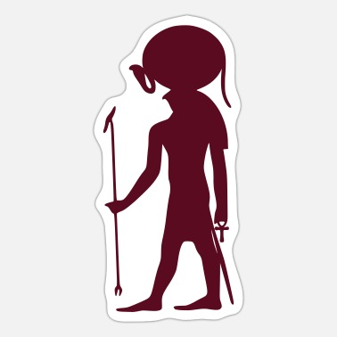 Pictograph Egyption God 23 - Sticker
