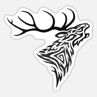 Roaring Stag Roaring Stag - Sticker
