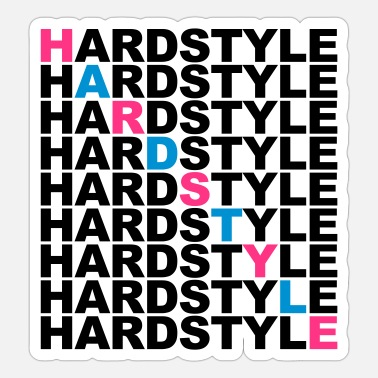 Hardstyle List - Sticker