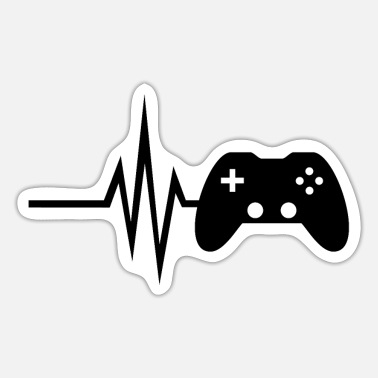 Multiplayer My heart beats for gaming - multiplayer esport - Sticker