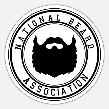 National National Beard Association - Sticker