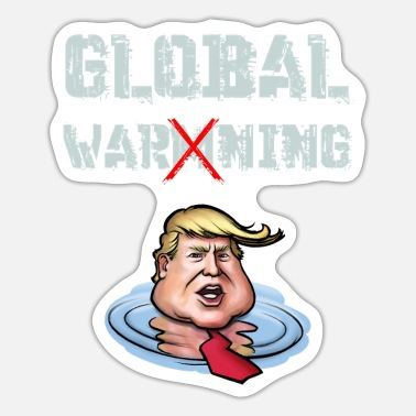 Global global advarsel - Sticker