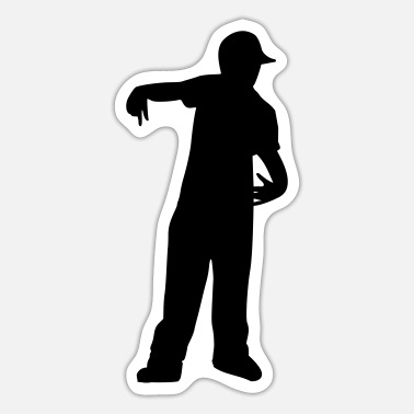 Rap Rapper - Sticker