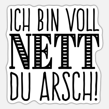 Nett Nett - Sticker