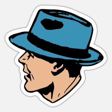 Pop Art Gangster Pop Art - Sticker
