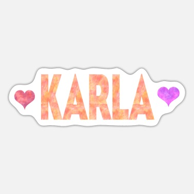 Karla Karla - Sticker