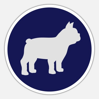 Bulldog Fransk Bulldog - Sticker