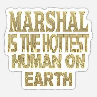 Marshall Marshal - Sticker