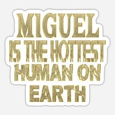 Miguel Ángel Miguel - Sticker