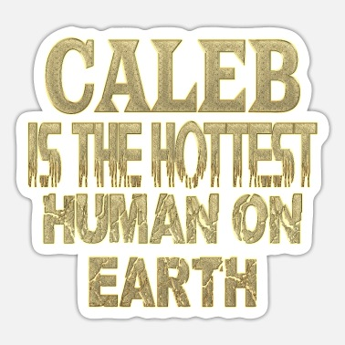 Caleb Caleb - Sticker