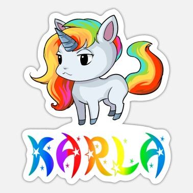Karla Karla unicorn - Sticker