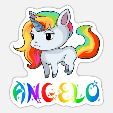 Angelo Angelo unicorn - Sticker