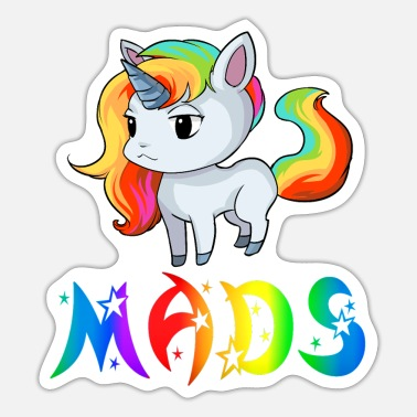 Mad Unicorn Mads - Sticker