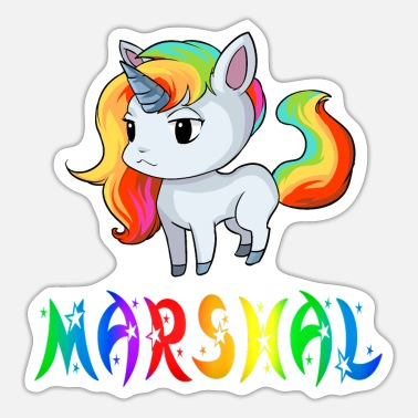 Marshall Unicorn Marshal - Sticker