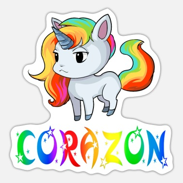Corazon Unicorn Corazon - Sticker