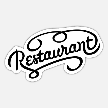 Restaurant restaurant - Sticker