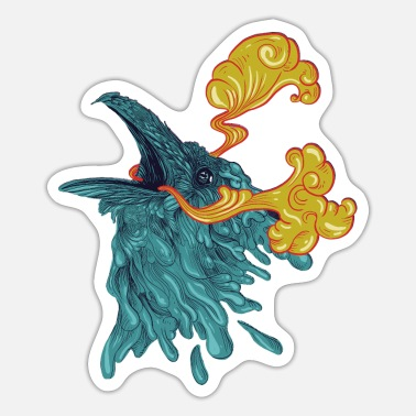 Mythical Collection V2 Raven water - Sticker