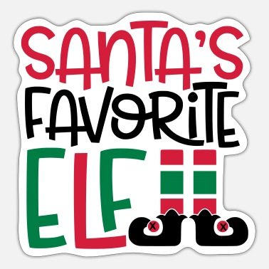 Elf elf - Sticker