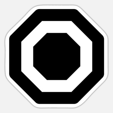 Octagon octagon - Sticker