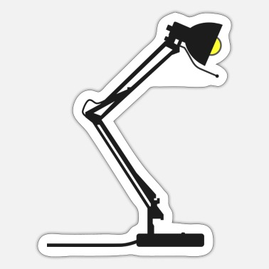 Desk Desk lamp - Sticker