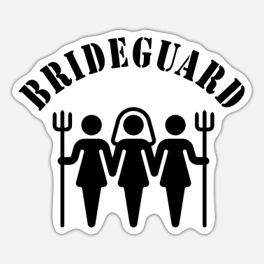 Hen Night Brideguard (hen night) - Sticker