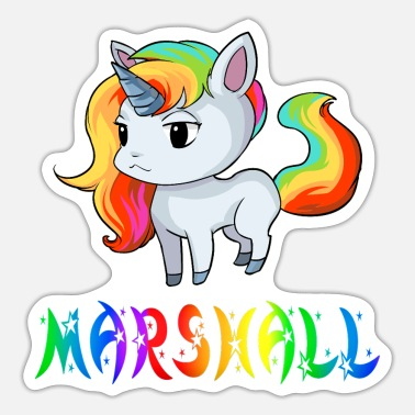 Marshall Unicorn Marshall - Sticker