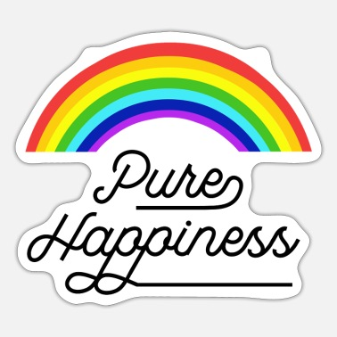 Happiness Pure happiness - Pegatina
