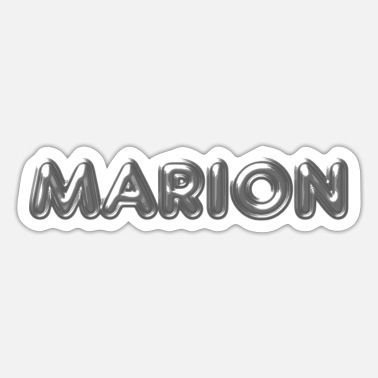 Name Marion name first name name day - Sticker