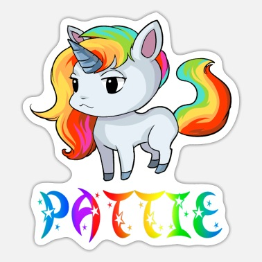 Patty Unicorn Pattie - Sticker