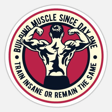 Body Building Muscle Building Fitness Lifestyle Sport Bodybuilder - Sticker