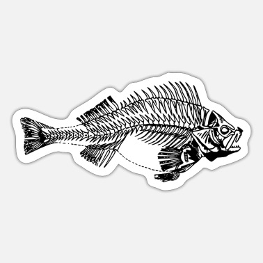 Agressieve agressieve bass - Sticker